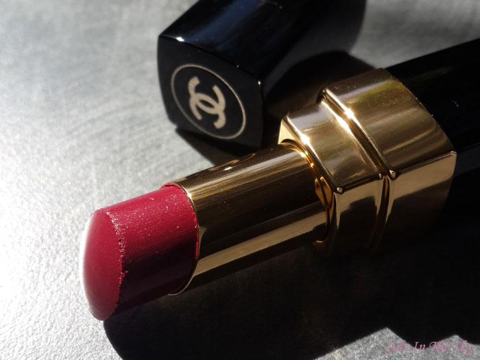 blog beauté test rouge coco shine fiction avis swatch