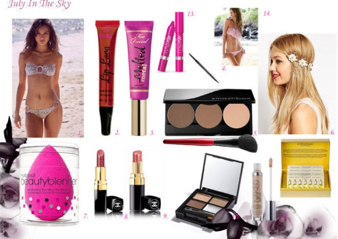 blog beauté wishlist avril avis test swatch lip lava smashbox victoria secret beauty blender chanel rimmel
