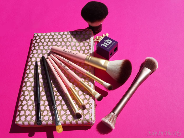 blog beauté avis pinceaux too faced urban decay mac elf taille-crayon grindhouse