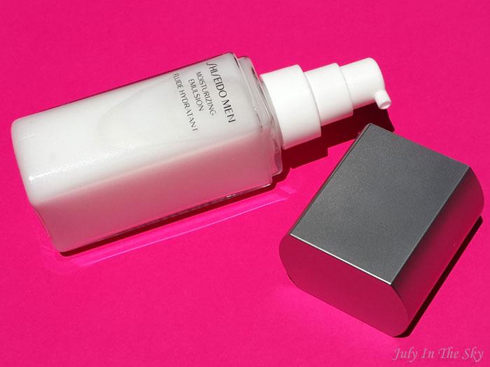 blog beauté homme shiseido men fluide hydratant avis