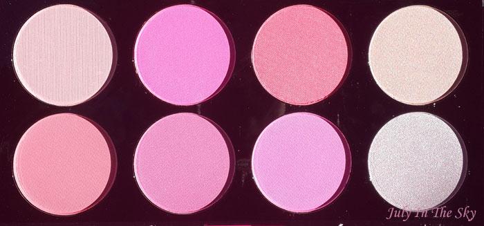 blog beauté haul makeup revolution palette blush all about pink avis