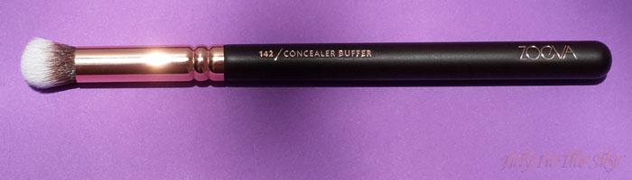 blog beauté avis pinceaux rose golden complete eye set zoeva the beautyst avis test 142 concealer buffer