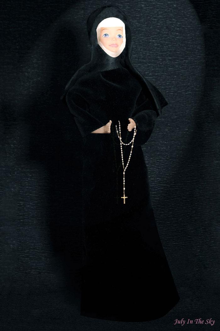 blog beauté photographie art barbie nonne