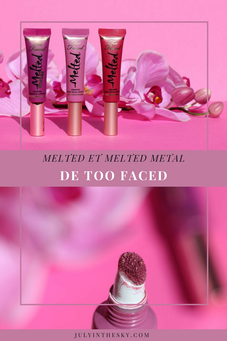 blog beauté too faced melted metal berry fig jelly avis test
