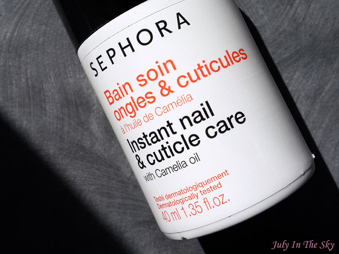 blog beauté manucure routine bain soin cuticules ongles huile camélia top avis