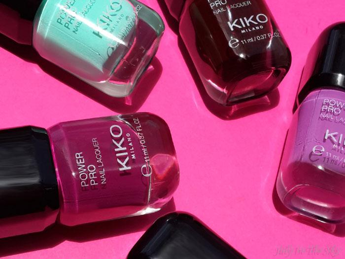 blog beauté vernis power pro nail lacquer kiko