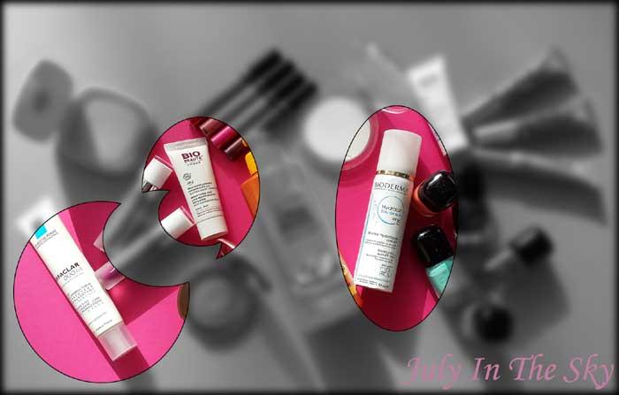 blog beauté favoris juillet août 2015 Effaclar Duo La Roche Posay Beauté Bio by Nuxe Hydrabio Bioderma avis test