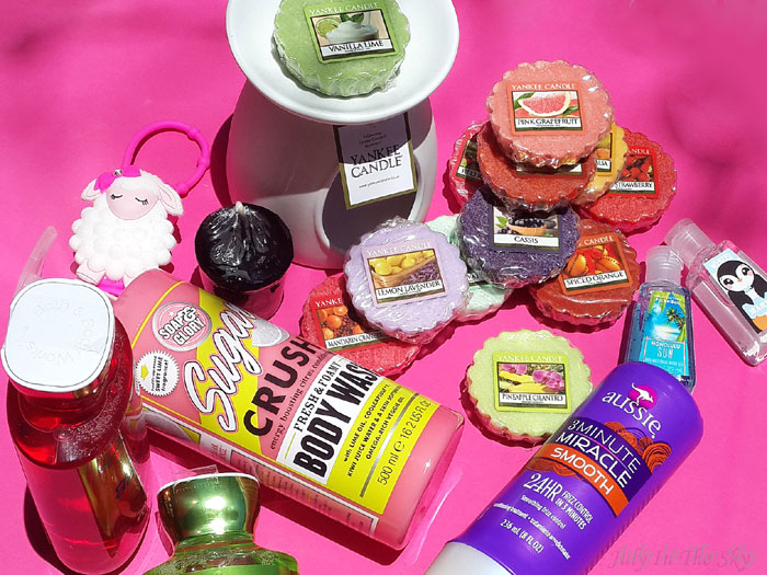 blog beauté avis test v-inc yankee candle soap and glory bath & body works aussie weebez