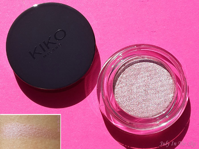 blog beauté kiko collection rebel romantic metallic shine eyeshadow avis test swatch