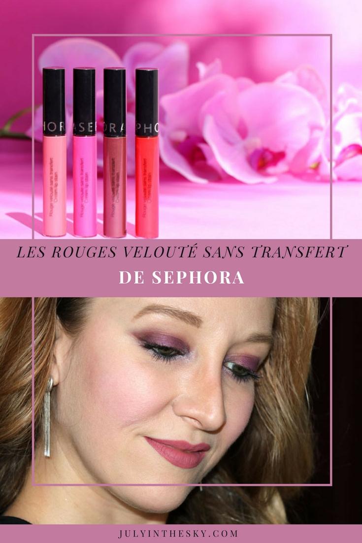 blog beauté rouge velouté sans transfert sephora avis test swatch always red forever fuchsia marvelous mauve dark berry