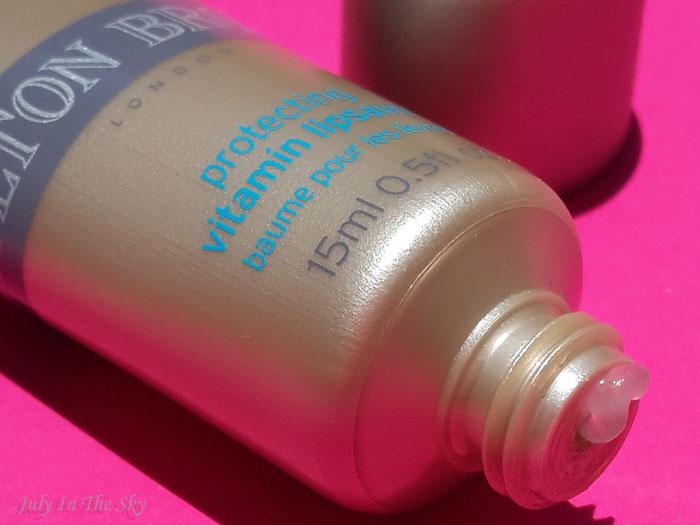 blog beaute baume à lèvres protecting vitamin molton brown test avis