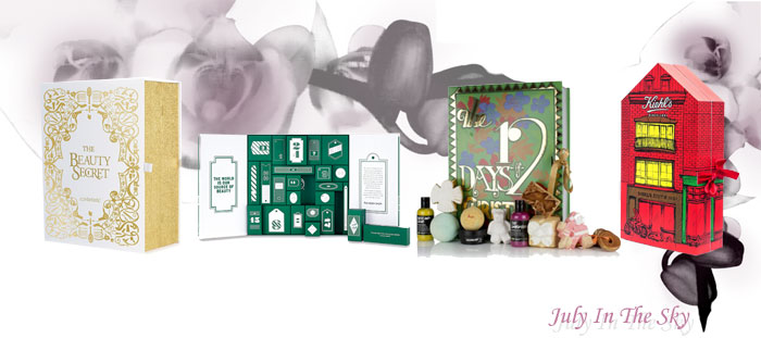 blog beauté calendrier avent lookfantastic the body shop lush kiehl's