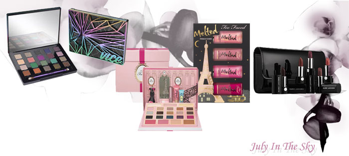 blog beauté collection noel too faced urban decay marc jacobs grand palais vice 4 the sofia french kisses melted