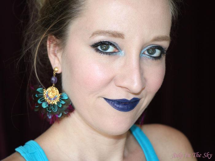 blog beauté studded kiss lipstick kat von d avis test swatch poe