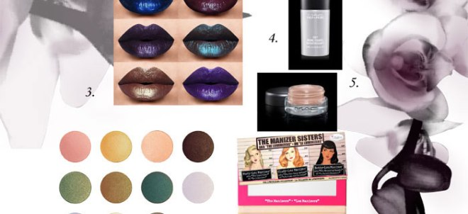 blog beauté wishlist novembre avis test swatch makeup geek manizer sisters the balm mac la splash