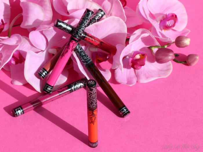 blog beauté kat von d everlasting liquid lipstick avis test swatch