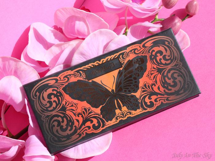 blog beauté palette monarch kat von d avis test swatch