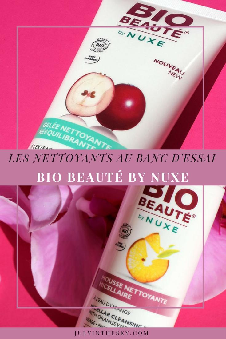 blog beauté bio beaute by nuxe avis test mousse nettoyante micellaire