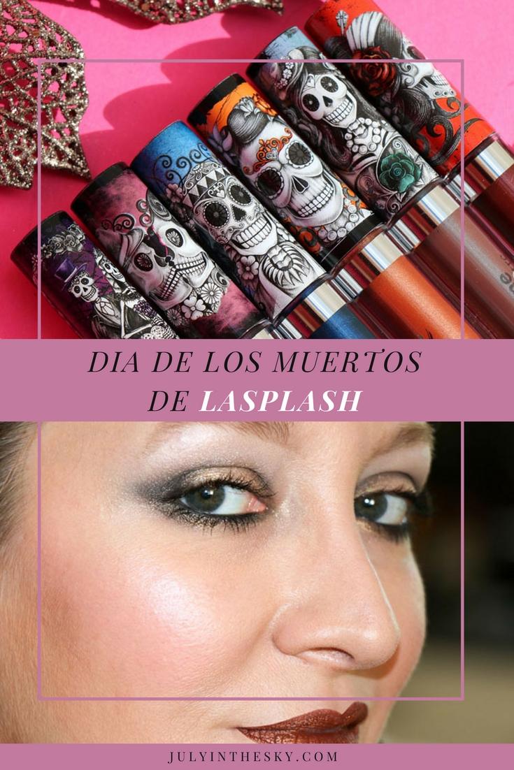 blog beauté lip lustre lasplash dia de los muertos