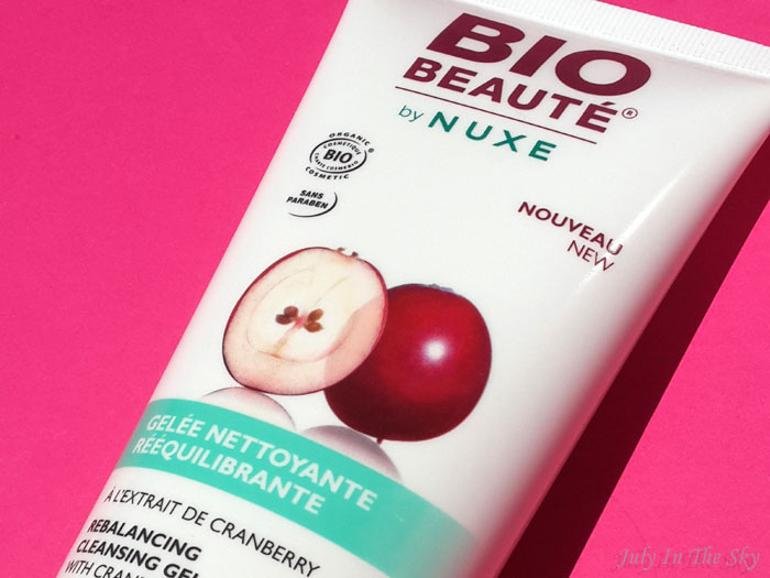 blog beauté bio beaute by nuxe avis test gelee nettoyante reequilibrante