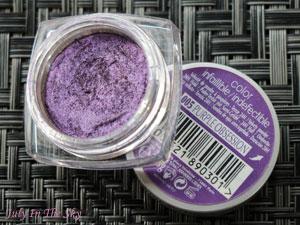 blog beauté make-up of the day réveillon argent violet givré dare to dazzle dose of colors avis test swatch color infaillible l'oréal purple obsession