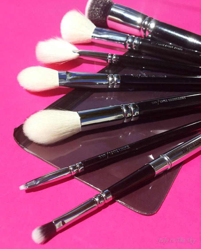 blog beauté pinceaux beauty blender accessoires avis test zoeva