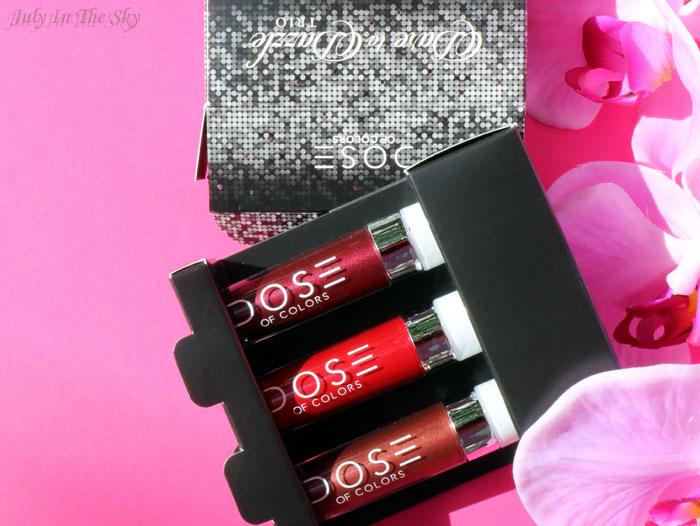 blog beauté trio dare to dazzle dose of colors teddy scarlet lace corset