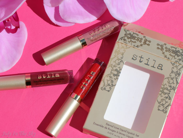 blog beauté eternal love kit stila stay all day lipstick