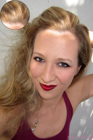 blog beauté garnier ultra blond avis test soin neutralisant gelée  éclaircissante effet soleil