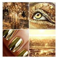 blog beauté make-up fêtes réveillon or gold