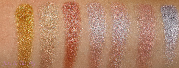 blog beauté fard makeup geek eyeshadow foiled pressed duochrome avis test z palette swatch