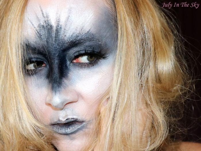 blog beauté monday shadow challenge black swan make-up artistique