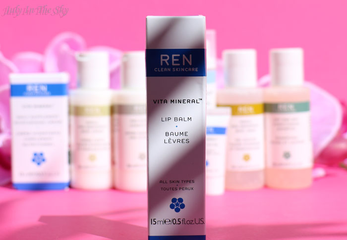 blog beauté ren skincare trousse grab & go baume à lèvres Vita Mineral