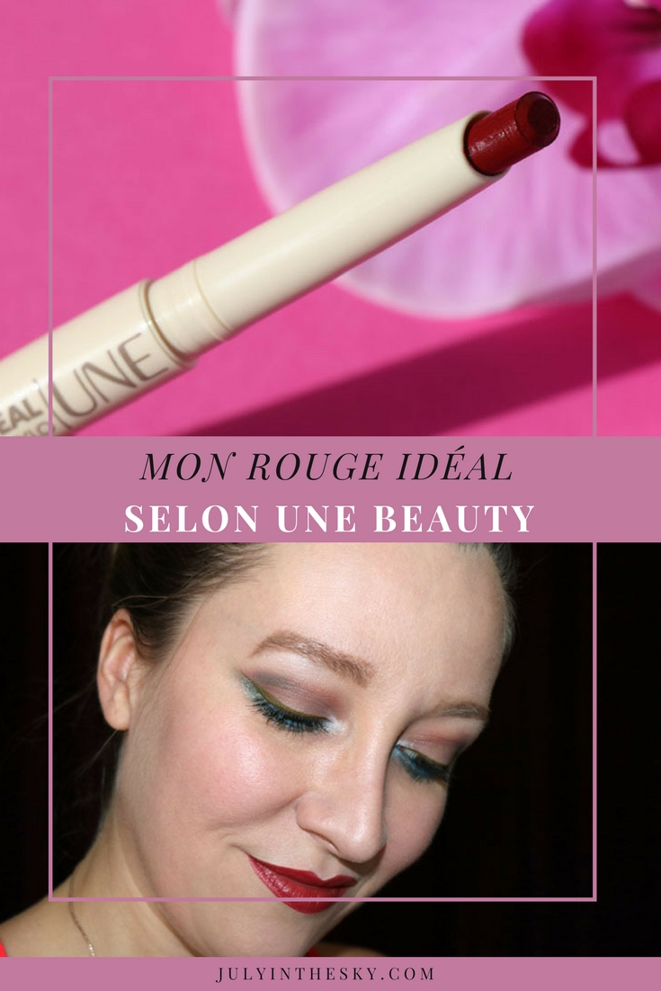 blog beauté une beauty rouge ideal m20