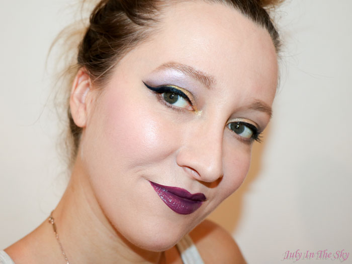 blog beauté dose of colors classic gloss toxic swatch