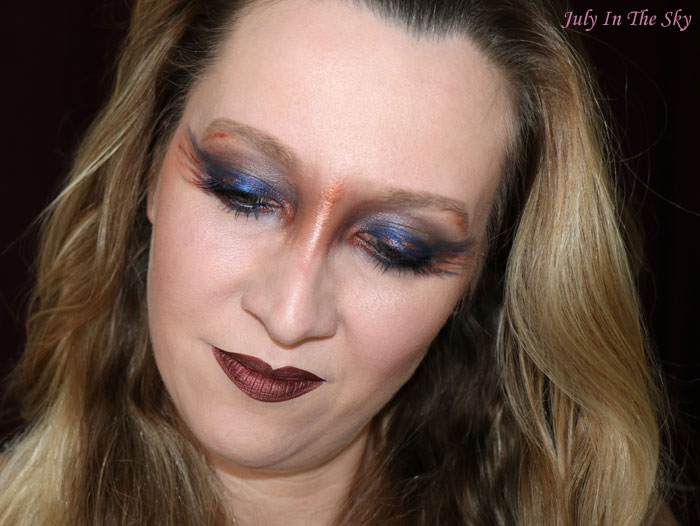 blog beauté monday shadow challenge copper meteorite cuivre make-up artistique