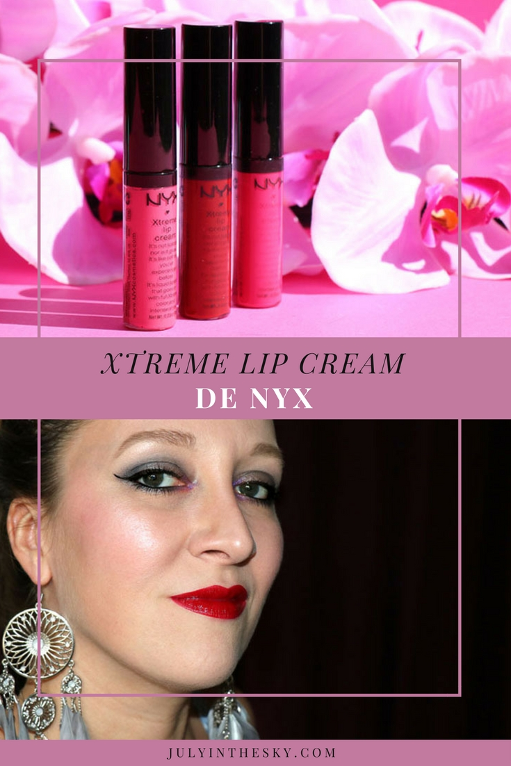 blog beauté nyx xtreme lip cream avis test swatch