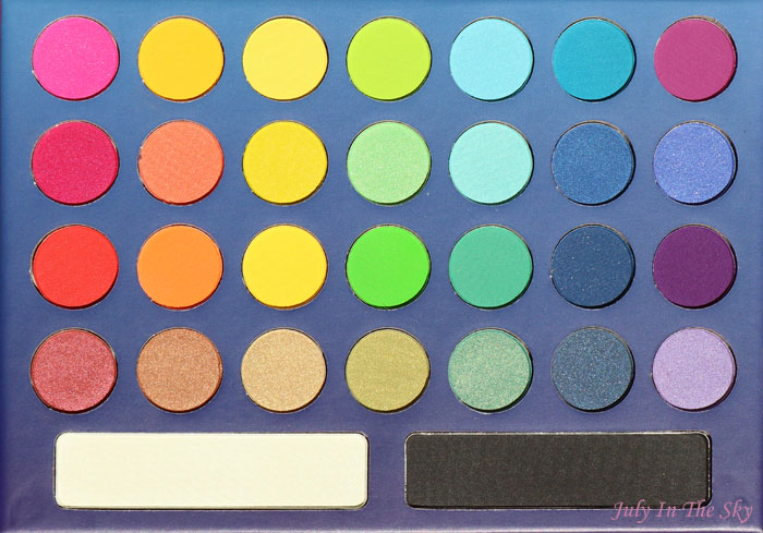 blog beauté BH Cosmetics take me to Brazil swatch