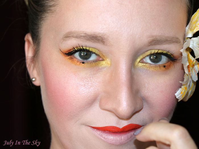 blog beauté monday shadow challenge mustard geisha