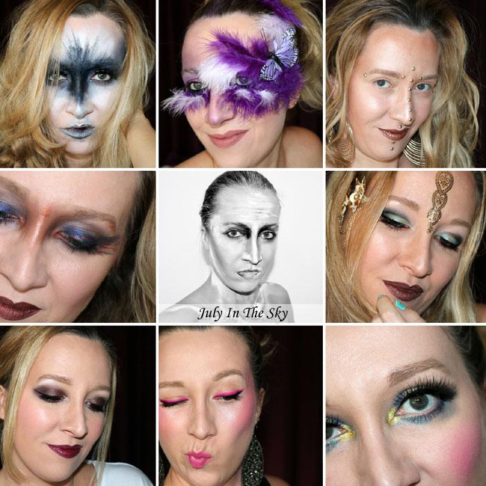 blog beauté monday shadow challenge make-up artistique retrospective