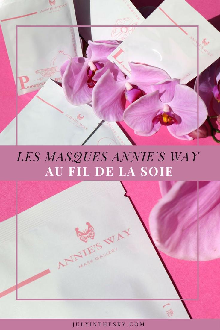 blog beauté masque soie annie's way mooni mask