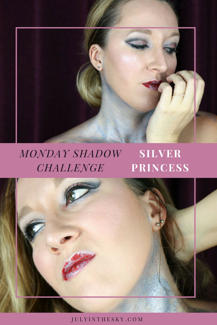 blog beauté maquillage monday shadow challenge silver princess