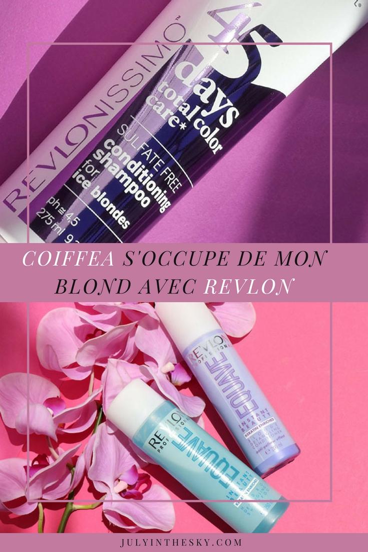 blog beauté cheveux blonds coiffea revlon 45 days 2en1 total colour care duo instant beauty equave