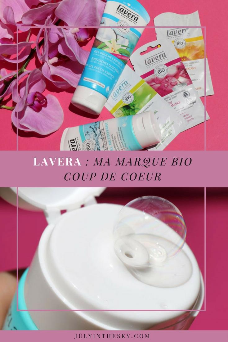 blog beauté lavera bio gel douche exotique gel nettoyant mauve mélisse masque