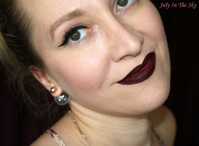 blog beauté avis melted matte too faced drop dead red