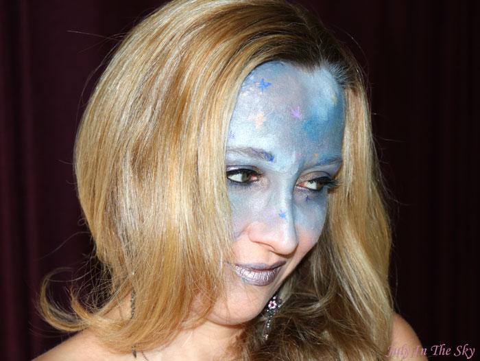 blog beauté monthe make up fever galaxie mercury galaxy make-up artistique