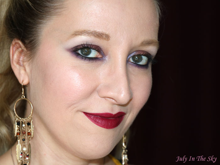 blog beauté kiko velvet passion matte lipstick burgundy