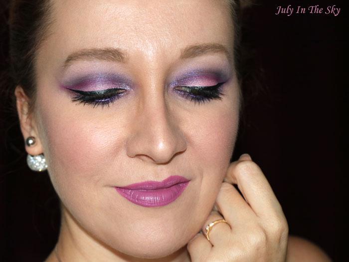 blog beauté make-up noel cut crease