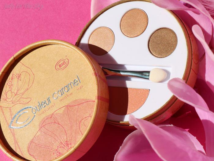 blog beauté monde bio box soirées de fin d'année couleur caramel kit flash make-up un dimanche à Deauville