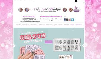 blog beauté livraison frais expédition dom tom nail art boutique